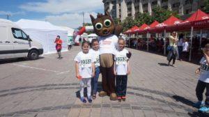 Pădurea Copiilor la Semimaratonul Internațional București
