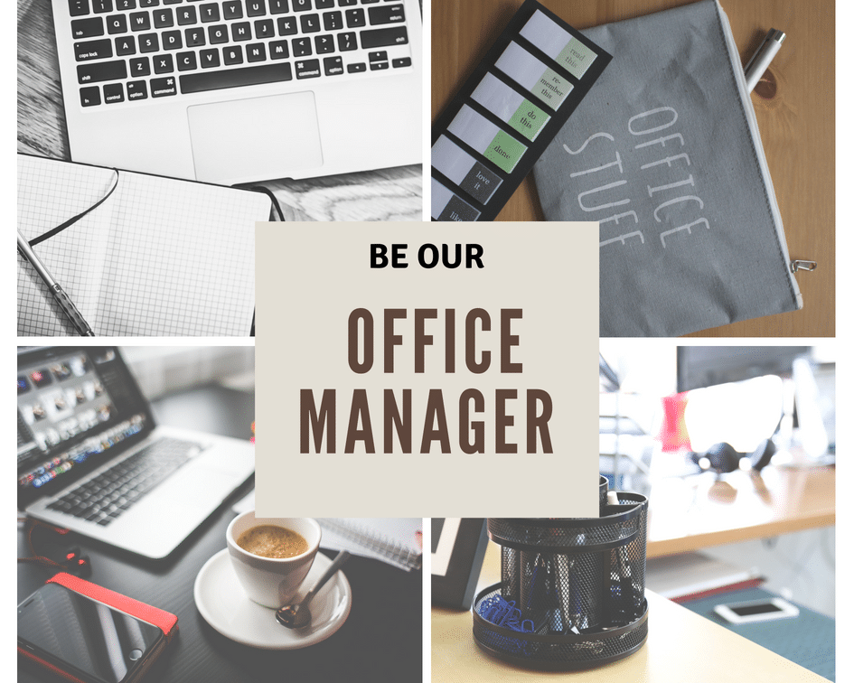 Recrutare Office Manager